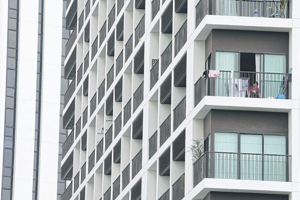 Living room: New condominium projects have shiny amenities, but often lack living space.