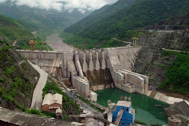 The Dachaoshan dam is a key hydro-power source for China - and a major barrier on the Mekong for Thailand and other down-river countries. (File photo by AP)