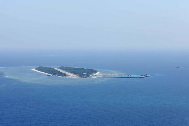 Itu Aba, which the Taiwanese call Taiping, is a tiny island or atoll at the edge of the Spratly Islands of the South China Sea. (Reuters photo)