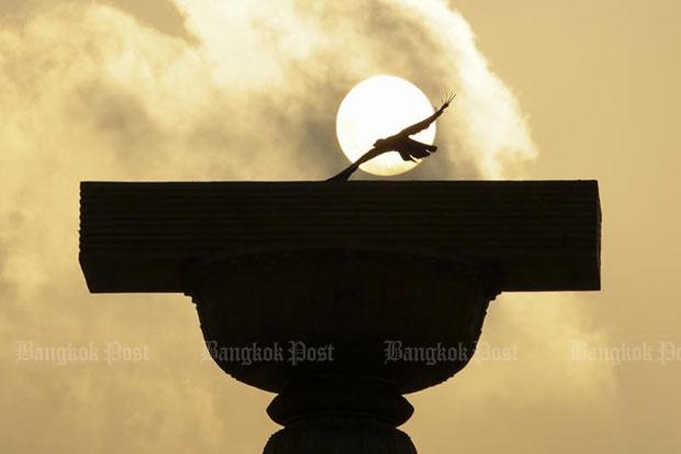 The Democracy Monument in Bangkok. (Bangkok Post file photo)