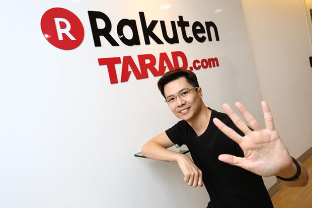Pawoot Pongvitayapanu, founder and managing director of Tarad.com in a file image supplied by the company in October 2014.