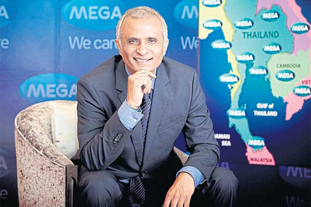 The world is becoming more interested in natural health and Thailand, with its strong history of using traditional herbs and plentiful natural resources, is the perfect location for such a concept, says Mega chief executive Vivek Dhawan.