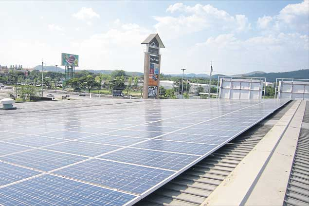 A rooftop solar installation developed by Thai Solar Energy Plc is one of many that are gaining popularity in Thailand as panel costs decline and incentives improve.