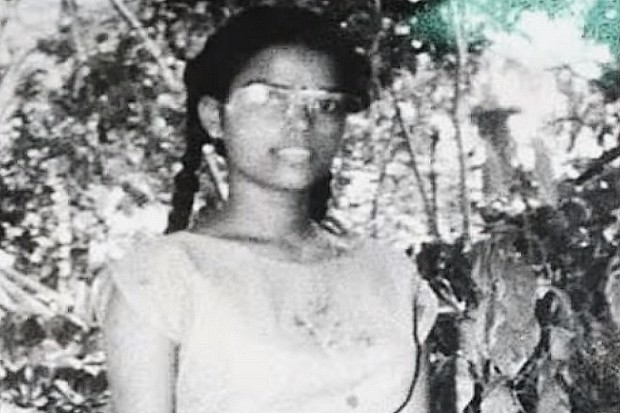 Thenmozhi Rajaratnam, nickname Dhanu, a Tamil from southern India, killed Rajiv Gandhi, herself and 14 innocent people with a suicide bomb on May 12, 1991. (Photos from the Jain Commission murder investigation)