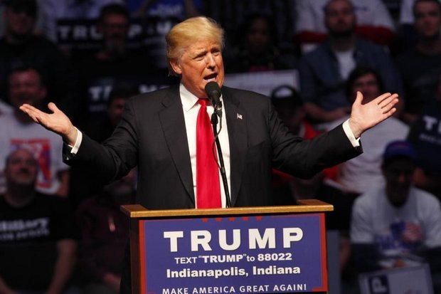 Donald Trump, the Republican Party's candidate: Intuitive, quick, and sometimes emotional. (AP photo)