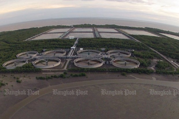 The Klong Dan wastewater project began 20 years ago, and turned into the country's more infamous case of blatant graft. (Post Today photo)