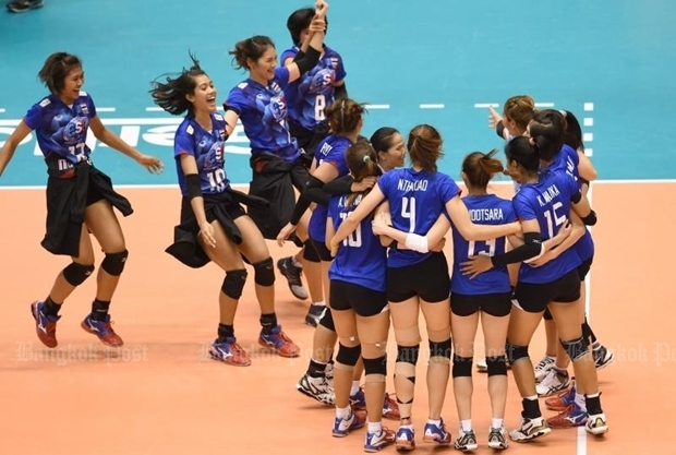 Volleyball Best In Asia But Not In Olympics Update Bangkok Post Learning