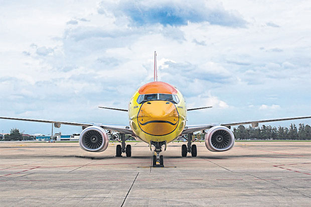 The addition of Boeing 737-800s (pictured) will enable Nok Air to begin scheduled flights to China.