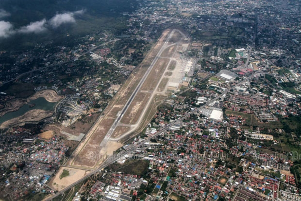 Chiang Mai airport will undergo a two-phase expansion costing 12-billion-baht over the next 15 years. (Photo by Thiti Wannamontha)