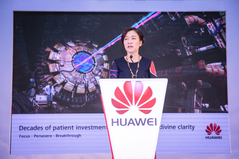 Huawei Technologies senior vice-president Chen Lifang (Huawei Technologies Co photo)