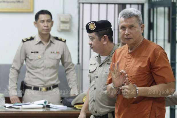 The latest known sentence on lese majeste charges was last week by the criminal court, which sentenced country singer Thanat Thanawatcharanont, better known as Tom Dundee, to seven and a half years. (Photo by Pornprom Satrabhaya)
