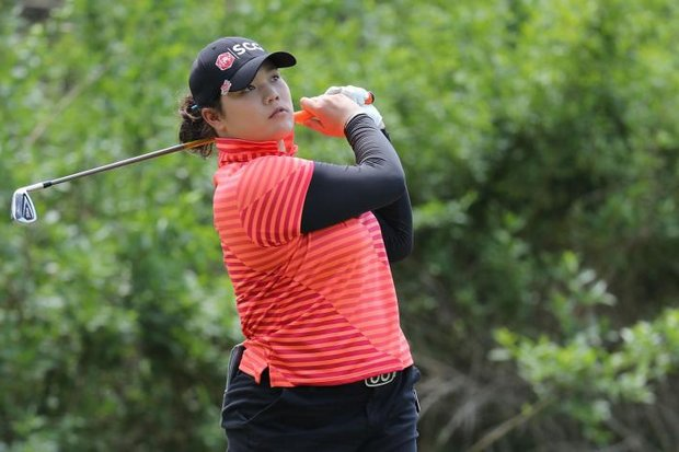 Ariya 'Nong May' Jutanugarn: Thailand's latest sports star took a week off to sharpen her game ahead of this weekend's Women's PGA Championship, starting Thursday evening (Thailand time). (AFP photo)