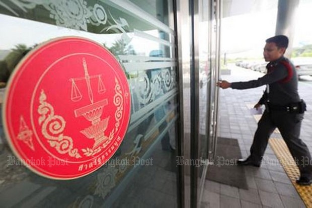 The Constitutional Court in effect refused to step in to the debate over the Referendum Act, including harsh restrictions on debate and freedom of speech. (Post Today photo)