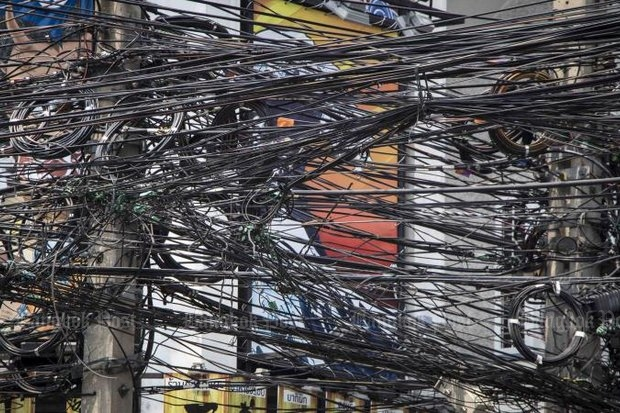 Bill Gates embarrassed authorities enough to claim they intend to bury some of these cables, but what if Mr Gates got a look at the real Bangkok?
