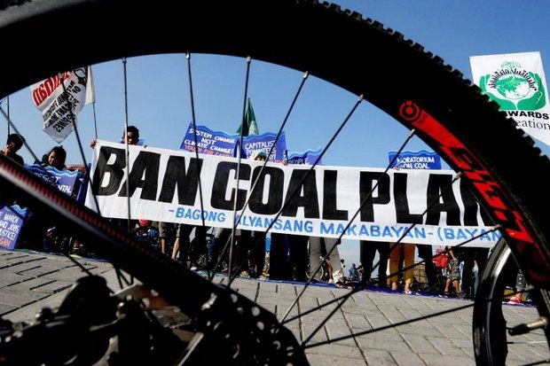 Anti-coal protests like this one in the Philippines indicate that coal may be the most unpopular fuel in current use. (File photo)