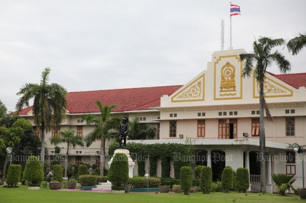 The Ratchawanlop Mansion is a two-storey European neo-classical style building decoratedwith traditional Thai motifs and architecture, located inside the Ministry of Education compound. (Photo by Wichan Charoenkiatpakul)