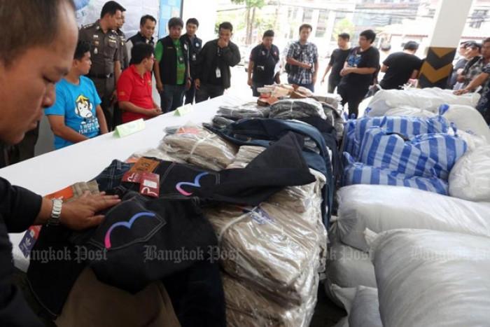 Malaysia-bound fake brand name jeans seized