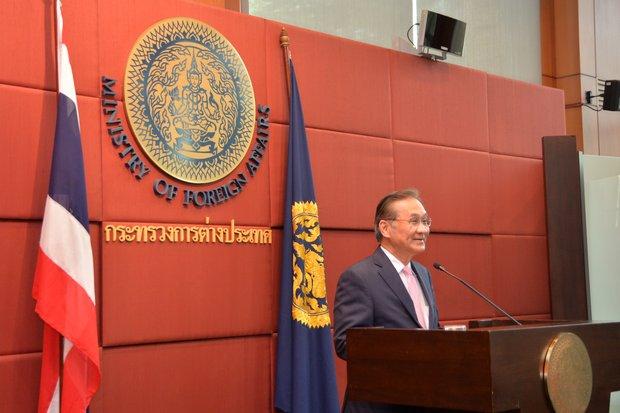 Foreign Minister Don Pramudwinai's spokesman defends