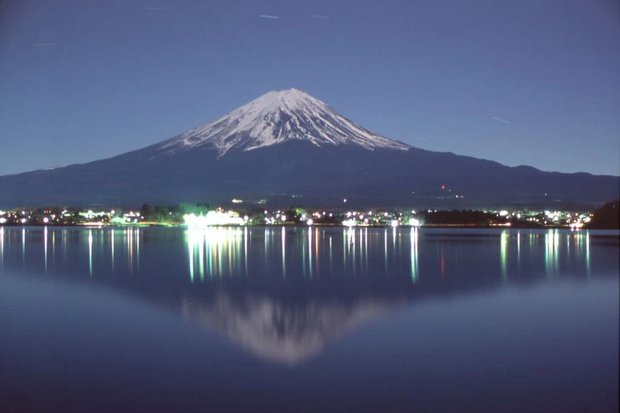 Probably the most popular sight in Japan is Fujiyama. (Photo Melanie M at Flickr through Creative Commons)
