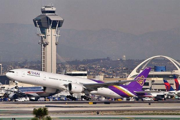 Thai Ended Its Flights To Lax Above 10 Months Ago As It Struggled With Reform At The Time Non Stop Los Angeles Bangkok Flight Was Longest In