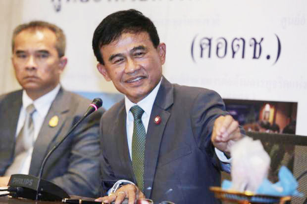 Justice Minister Paiboon Koomchaya vows to seal off the Golden Triangle in joint operations with Myanmar to crack down on illicit drugs.