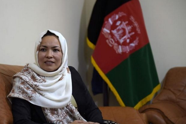 Masooma Muradi is the only female provincial governor in Afghanistan. (AFP photo)