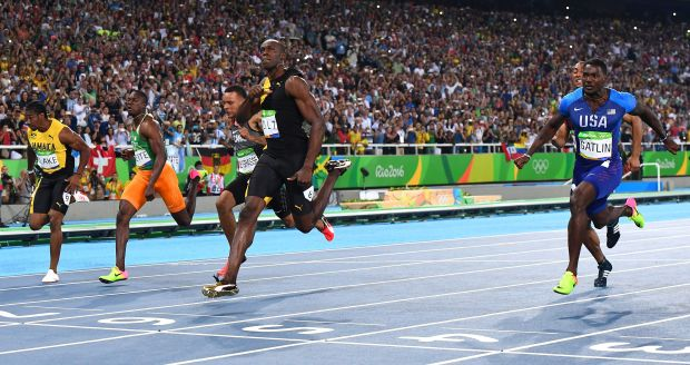 Olympics 100m: Usain Bolt wins again: 2008, 2012, 2016 ...