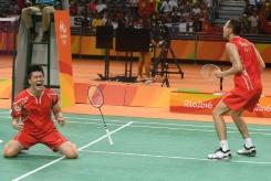 Winning Badminton Doubles
