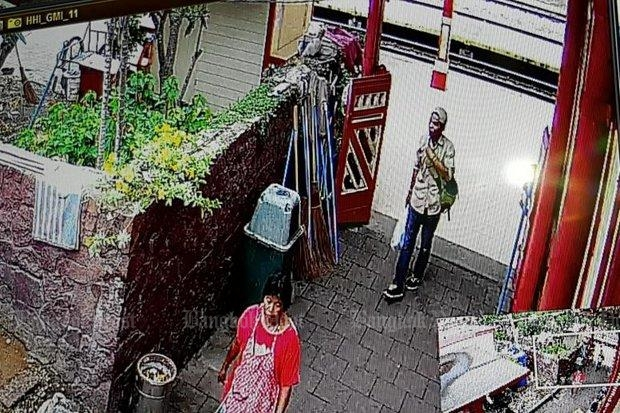 Captured on CCTV the afternoon of the Mother's Day bombs in Hua Hin, this man now is Thailand's Most Wanted after police linked him to last year's Koh Samui mall bomb as well. (Courtesy Royal Thai Police, via Post Today)