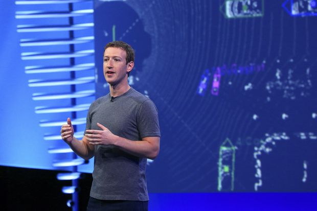 Mark Zuckerberg introduces new features for Facebook Messenger, at the social media giant's annual F8 developer conference in San Francisco on April 12, 2016. In an open letter published on Friday, Espen Egil Hansen, the editor in chief of Aftenposten – one of Norway's largest newspapers – criticised Mr Zuckerberg after the social network deleted a post that included a Pulitzer Prize-winning photograph from the Vietnam War of a naked girl fleeing napalm bombs. (The New York Times)