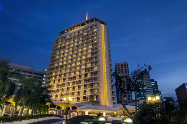 The five-star Dusit Thani Hotel, located in the middle of Bangkok's business district and across from Lumpini Park, remains a core source of revenue for Dusit Thani Group.