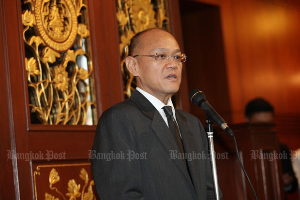 Thai ambassador to the United Nations Virachai Plasai (above) will be the final speaker  at a special assembly of the UN  on Friday to honour King Bhumibol Adulyadej. (Bangkok Post file photo)