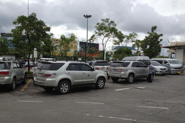 Taxies are available at Chiang Mai international airport. (Bangkok Post file photo)