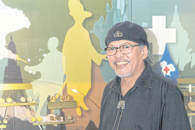 Heavy metal: Vuthichai Sangngeon, senior coin arts specialist at the Royal Thai Mint, designs both circulation and commemorative coins, and medals.