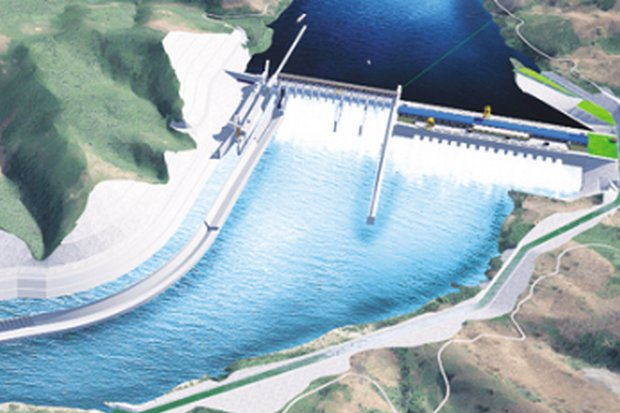 Construction is expected to begin in early 2017 on the Pak Beng Hydropower Project, located in the upper reaches of the Mekong River in Pak Beng district, Oudomxay province. (Photo via International Rivers)