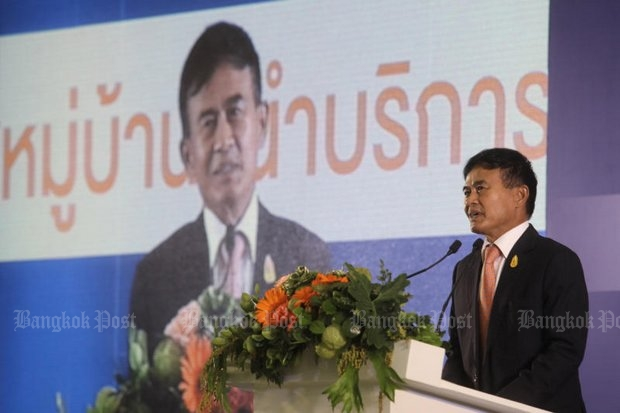 Justice Minister Gen Paiboon Koomchaya has progressive ideas on updating drug enforcement but he must enlist public opinion in his efforts. (File photo by Pornprom Satrabhaya)