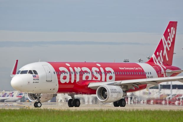 An AirAsia jet is seen at Don Mueang airport on July 5, 2016 photo. (Bangkok Post file photo)