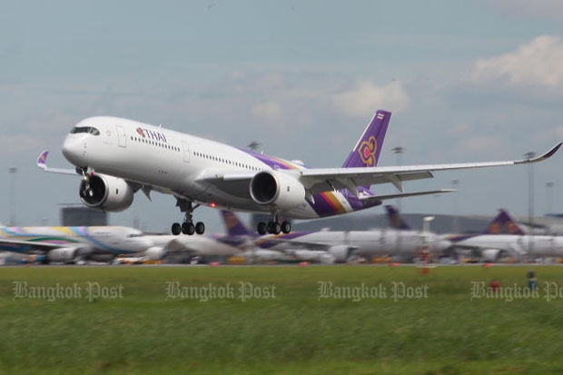 The standards of Thai Airways International and Thai aviation authorities keep Thailand away from Europe's latest air safety list of banned and restricted airlines, the civil aviation chief said. (Photo by Somchai Poomlard)