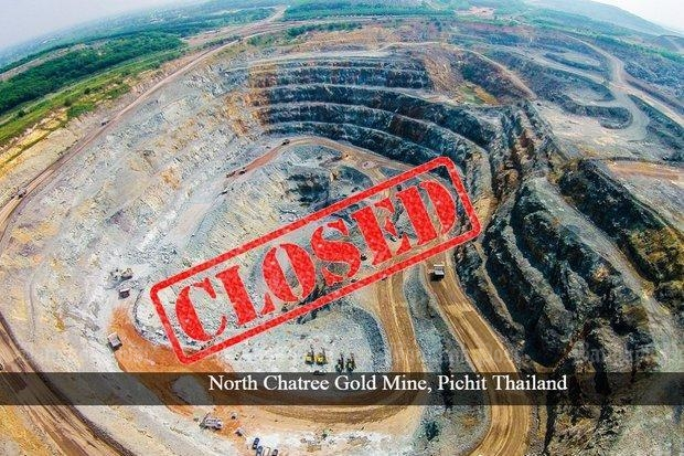 Akara Resources' Chatree gold mine has brought constant complaints of poisoning and illness from nearby communities in Phichit, although the mining firm claims its facilities are up to international standards. (Photo courtesy LotusHall Mining Heavy Engineering Construction Co)