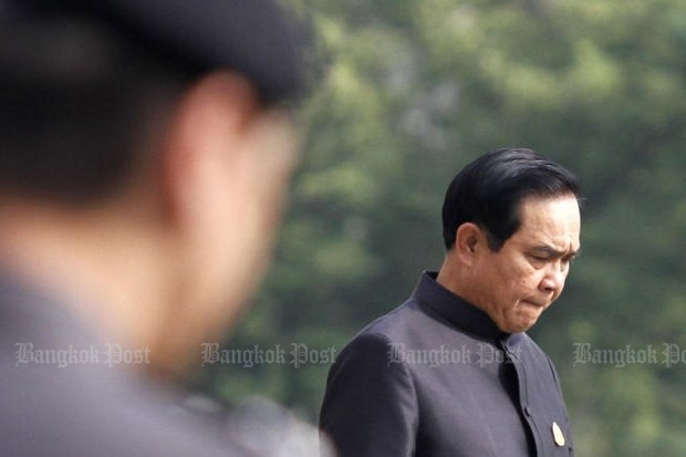 Prime Minister Prayut Chan-o-cha's general direction should clearly be to release the military men in his cabinet and bring into the cabinet civilian experts and technocrats. (Photo by Thanarak Khunton)