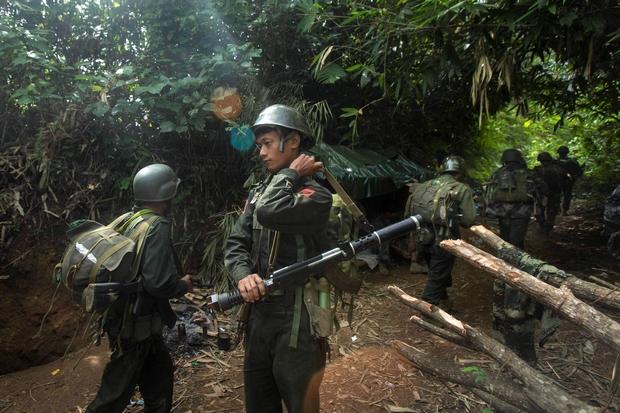Myanmar army 'attacking Kachin'