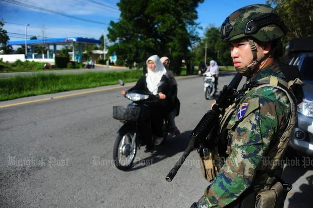 As violence increases again in the deep South, the government is reluctant to commit to peace talks. (File photo)