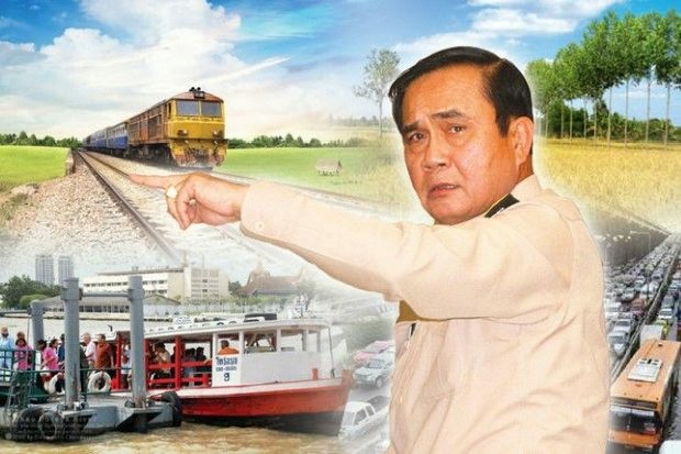 The government plans to pour 900 billion baht into 36 infrastructure projects aimed at boosting air, sea and land transport and, hopefully, the economy itself. (Post Today graphic)