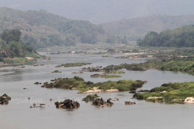 These Mekong River islets off Chiang Saen district of northern Chiang Rai province are doomed unless civil society can convince the government to stop