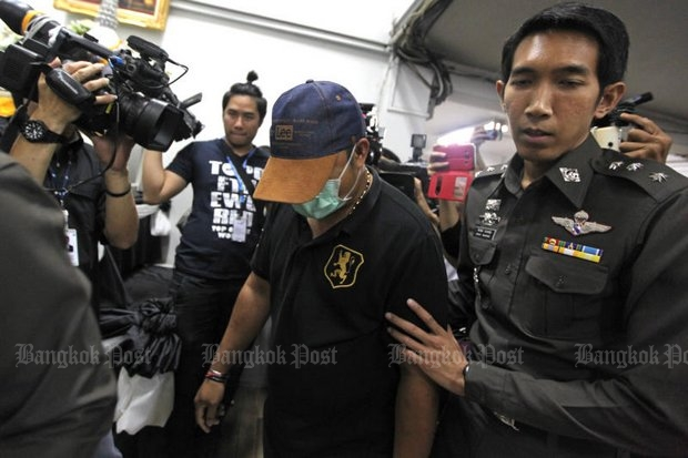 Municipal official Jeerapoj Plaiduang, 45, a municipal official (thetsakit) in Pathumwan district, was the first to be arrested and accused of masterminding the exam cheating. (Bangkok Post file photo)