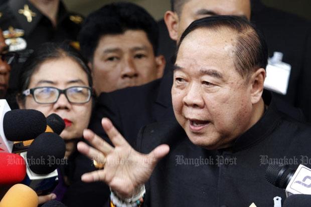 Deputy Prime Minister and Defence Minister Prawit Wongsuwon