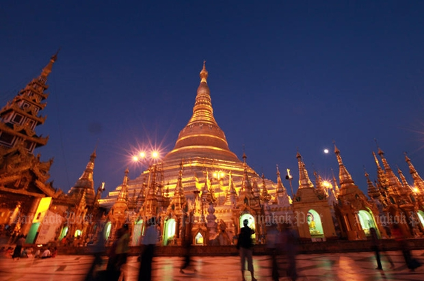 Shwedagon Pagoda is an instant attraction for visitors to Yangon in Myanmar. (Bangkok Post file photo)