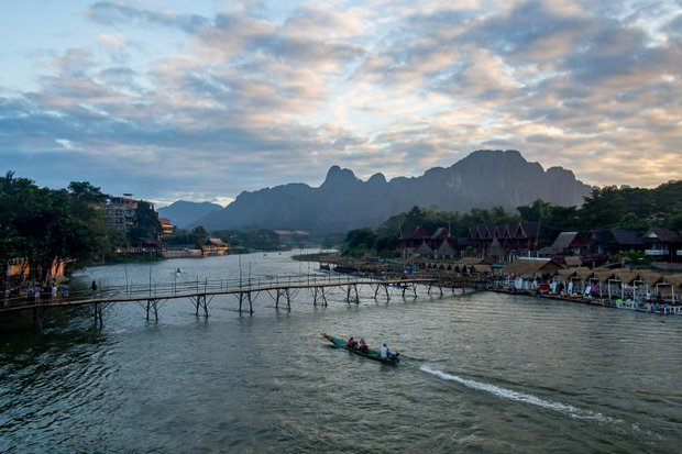 The Nam Song is the lifeblood of Vang Vieng and brings new hopes for ecotourism after years of shame from unruly backpackers. (Photos by the author)