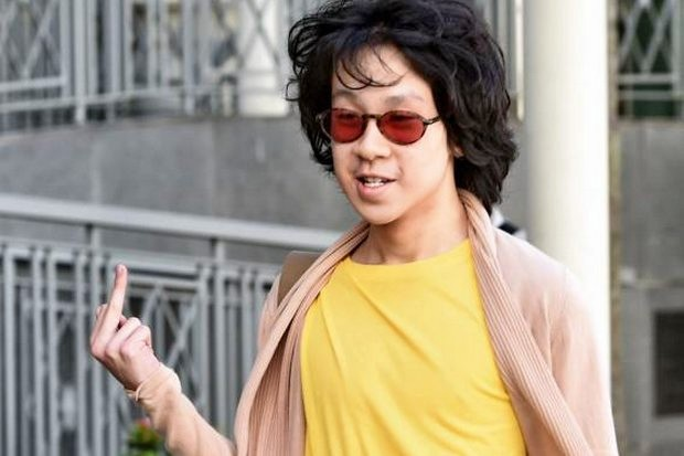 Amos Yee, then 16, arrives for sentencing by a Singapore court after posting online videos criticising Lee Kuan Yew, Muslims and Christians. (File photo)