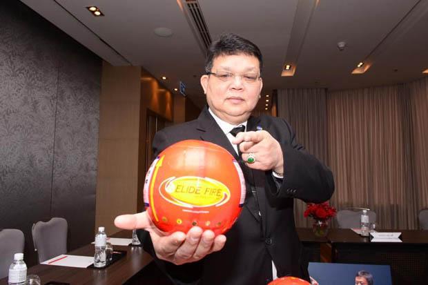 Phanawatnan Kaimart, Chief Executive Officer of Elide Fire Ball Pro Co holds an